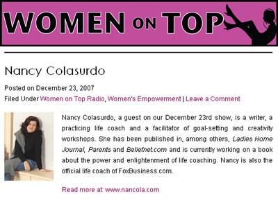Women on Top Radio